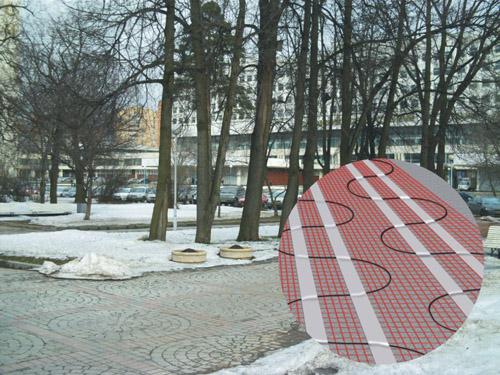 道路融雪(坡道融雪,车库融雪,坡道融雪,台阶融雪)