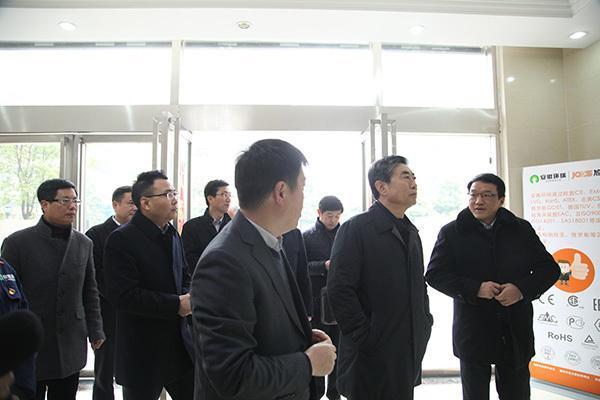 新年伊始安徽省省委常委组织部长邓向阳一行亲临必威官方考察指导